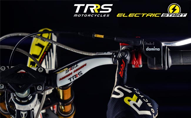TRS Xtrack electric start